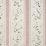 Floral Stripe 1004 Wallpaper