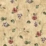 Beige Flowers KB20249 Wallpaper