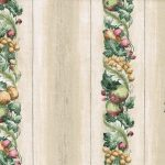 Stripes Fruits KA23621 Wallpaper