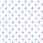 Flowers Stripes RB2391 Wallpaper