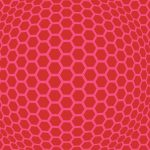 Graphics Honeycomb Red Pink 255334 Wallpaper