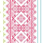 Homely Geometric Floral Pink White 46921 Wallpaper
