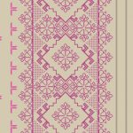Homely Geometric Floral Purple Grey 46925 Wallpaper