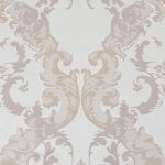 Adorn Floral Scroll Lavender Grey 48666 Wallpaper