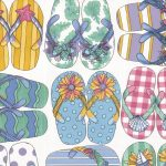 Shoes Beach Flip-Flops 50146 Wallpaper