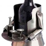 French Maid Wine Bottle Holder