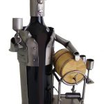 Male Wine Taster Wine Bottle Holder