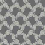 Embossed Leaf Trail Beige Taupe 6758-37 Wallpaper