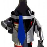 Businessman Wine Bottle Holder