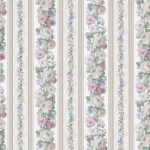 Kitchen Floral Stripes Marquis 79008 Wallpaper