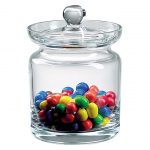 Aladdin 5.5 inches Lead Free Crystal Biscuit Jar