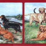 Dogs Huntings PS1304B Wallpaper Border