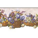 Floral OH74243DC Wallpaper Border