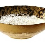 Leopard Brown Gold Bowl