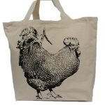 Rooster Full Tote Bag Large