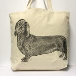 Dachsund Tote Bag Large