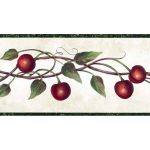 Red Cherries FAM65111 Wallpaper Border