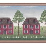 Wooden Country House GB30310 Wallpaper Border