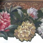 Hand Painted Floral HP5496 Wallpaper Border