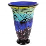 Rendezvous 24 inches Art Glass Vase