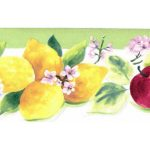 Lemon Apple KT77924 Wallpaper Border