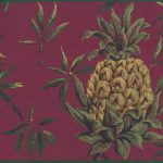 Yellow Pinapple LH2055 Wallpaper Border