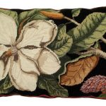Magnolia 18 x 28 Needlepoint Pillow NCU-100