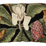 Magnolia 18 x 28 Needlepoint Pillow NCU-120