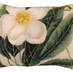 Cherokee Rose 16 x 20 Needlepoint Pillow