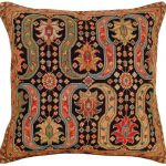 Afshar 18×18 Petitpoint Decorative Pillow