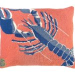 Rock Lobster 16×20 Hooked Pillow