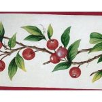 Red Tiny Cherries SK74390 Wallpaper Border