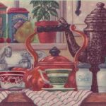 Kitchen Tea CV103750 Wallpaper Border