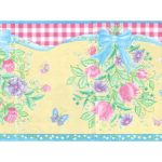 Floral B2082TY Wallpaper Border