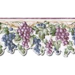 Grape Fruits FF22019DB Wallpaper Border