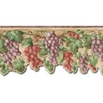 Grape Fruits FF22021DB Wallpaper Border