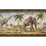 Animals B24027 Wallpaper Border