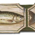 Fishing B25007 Wallpaper Border