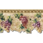 Grape Fruits TH29033DB Wallpaper Border