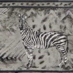 Zebra Tiger SF30013 Wallpaper Border