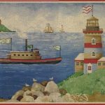 Lighthouses Boat SF30042 Wallpaper Border
