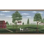 Country GB30307W Wallpaper Border