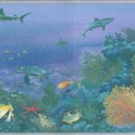 Under The Sea Turtles SF30044 Wallpaper Border