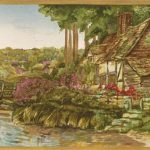 Cottages KC319B Wallpaper Border