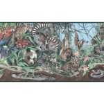 Animals B39901 Wallpaper Border
