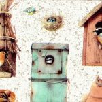 Outhouses MB4061B Wallpaper Border