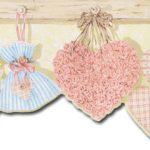 Birdhouses Hearts HK50012DC Wallpaper Border