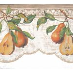 Pear Fruits b52040 Wallpaper Border