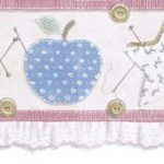 Buttons Sewing 238B53209 Wallpaper Border