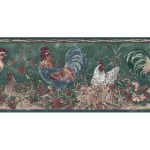 Roosters B66166320 Wallpaper Border